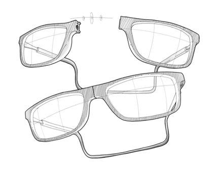 Slastik okulary na magnes